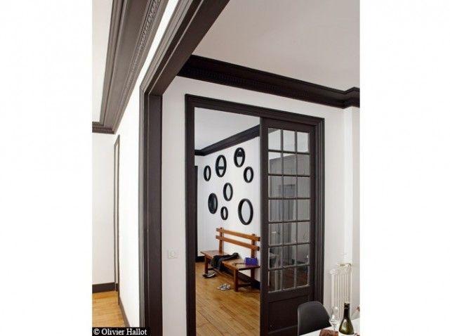 peinture de la couleur sur les murs elle d coration s jour recherche google et. Black Bedroom Furniture Sets. Home Design Ideas