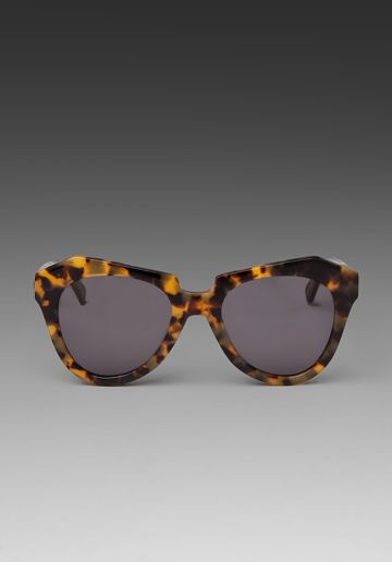 0903ca33802 Karen Walker sunnies. KAREN WALKER Number One 1001808 in Crazy Tort at  Revolve ...