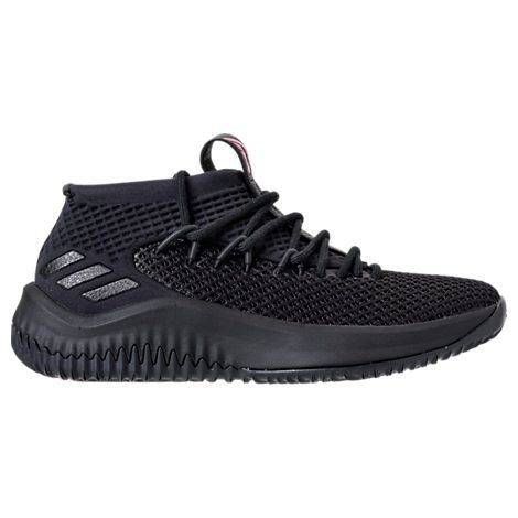 new style ea7bb a17b5 ADIDAS ORIGINALS MENS DAME 4 BASKETBALL SHOES, BLACKRED. adidasoriginals  shoes
