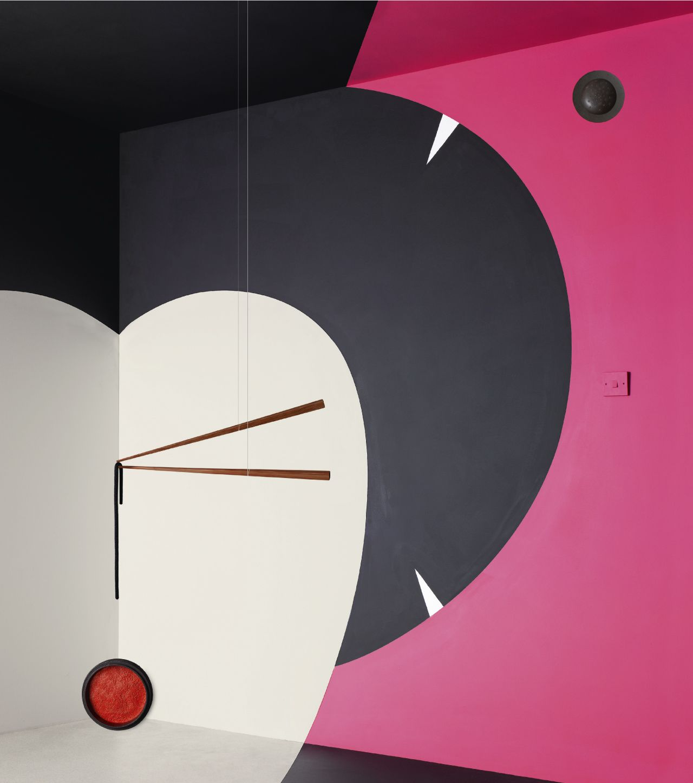 'Japan' room set by Noma Bar for Wallpaper Magazine.