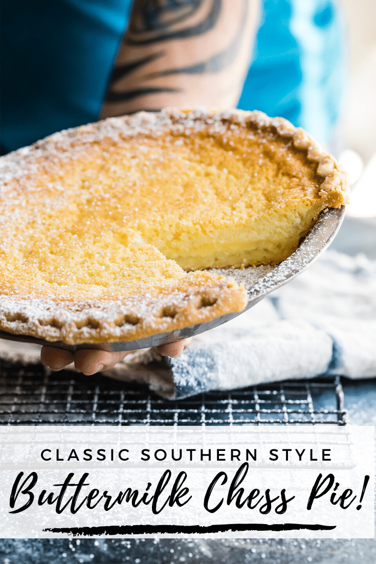Traditional Southern Style Buttermilk Chess Pie Recipe Buttermilk Chess Pie Chess Pie Southern Desserts