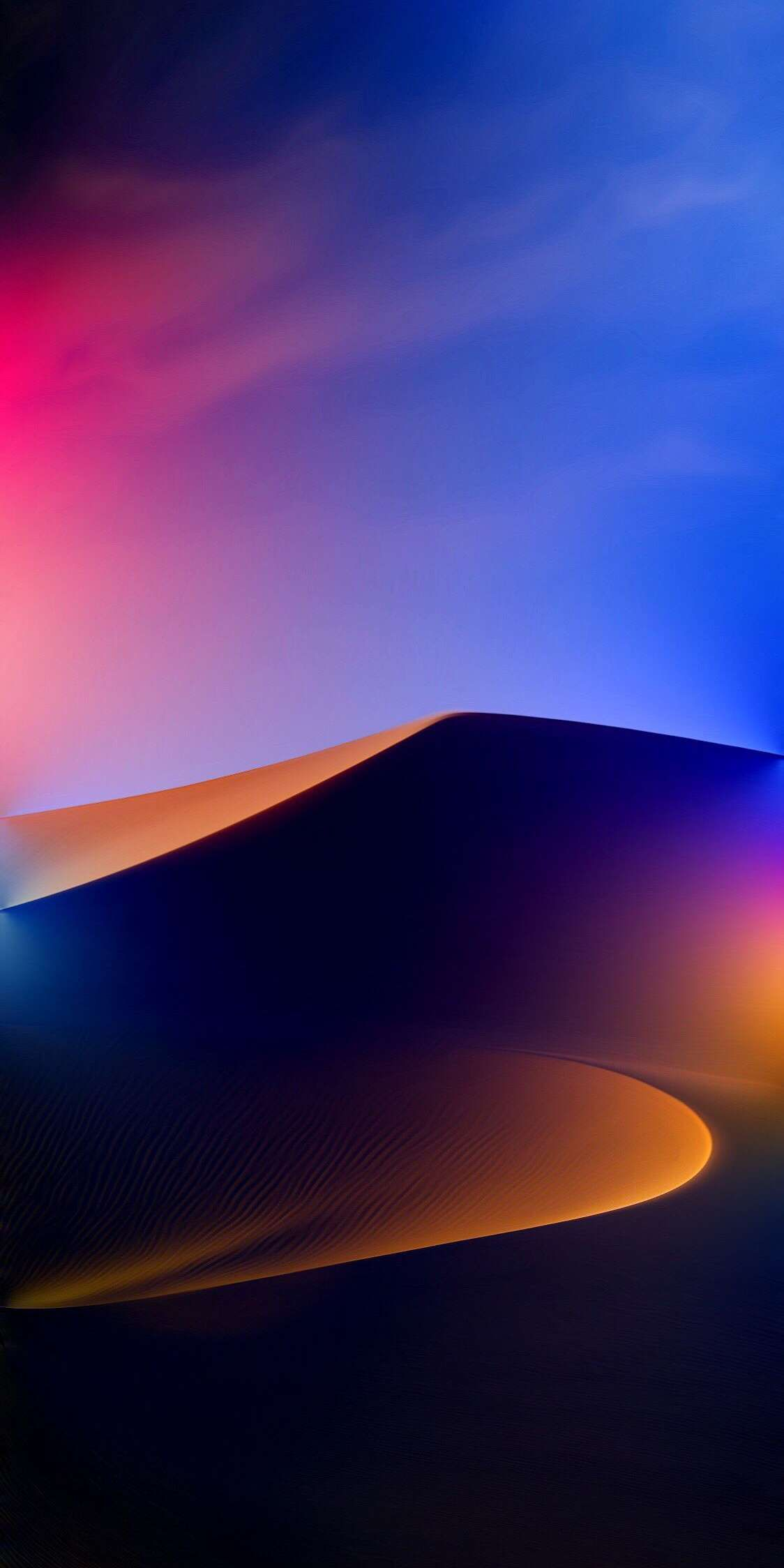 Gradient Desert iPhone Wallpaper from iphoneswallpapers.com