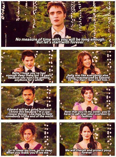 Bella S And Edwards Wedding Twilight Memes Twilight Saga Books Twilight Saga Quotes