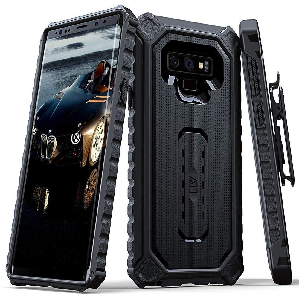 Details About Galaxy Note 9 Case Holster Belt Clip Rugged Cover Spigen Ultra Hybrid Clear Original Casing With Kickstand Black Elv
