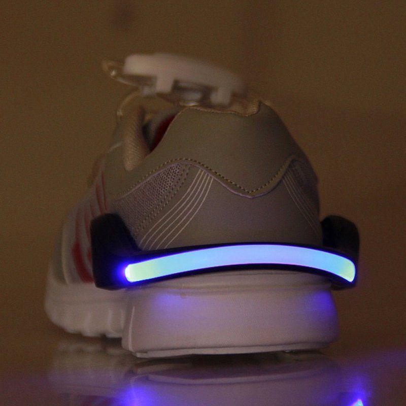 LED Luminoso Clip del Pattino Luce di Notte Per La Sicurezza Avvertimento LED Luminoso Flash Light Per Corsa Della Bici Nuovo Arrivo