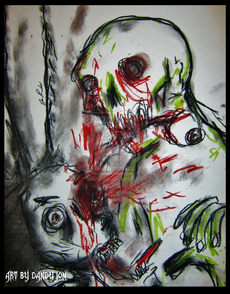 #art #painting #picoftheday #love #faceA Bite to Eat by Dandy-Jon.deviantart.com on @DeviantArt