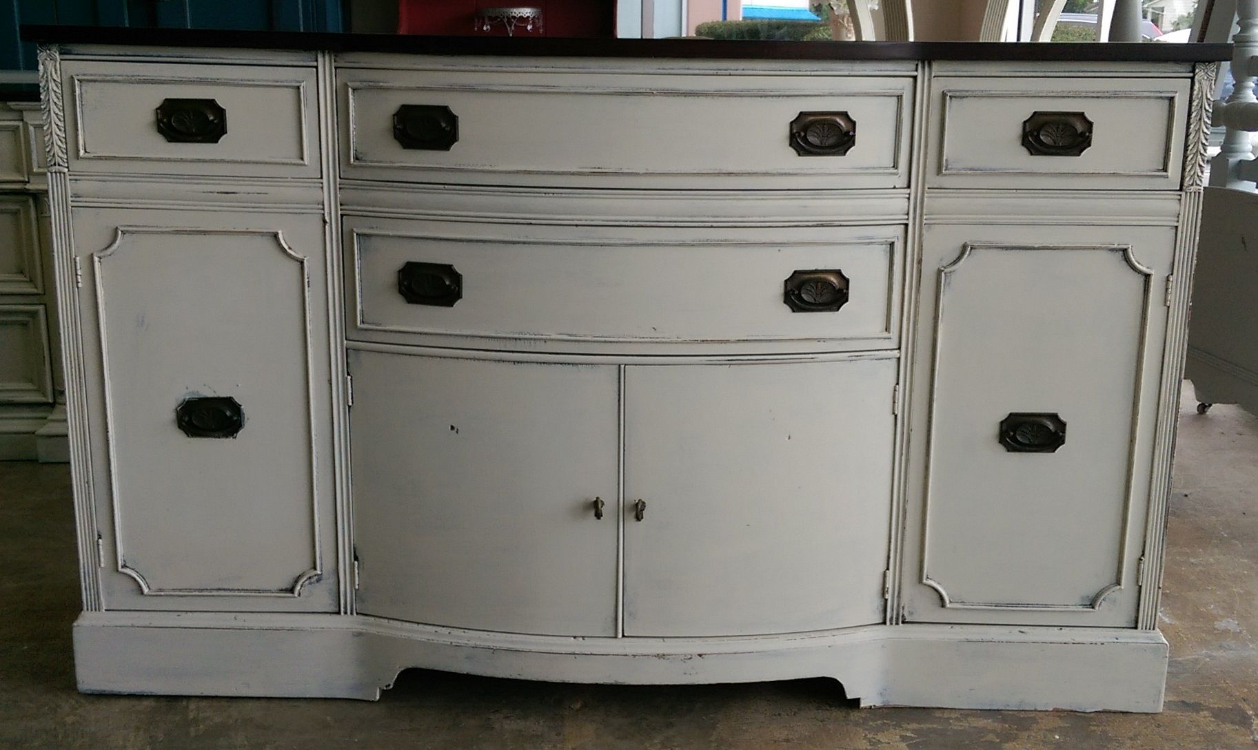 Pin By Shabby Chic Texas On My Shabby Chic Buffets Shabby Chic Buffet Shabby Chic Furniture Perfect Tv