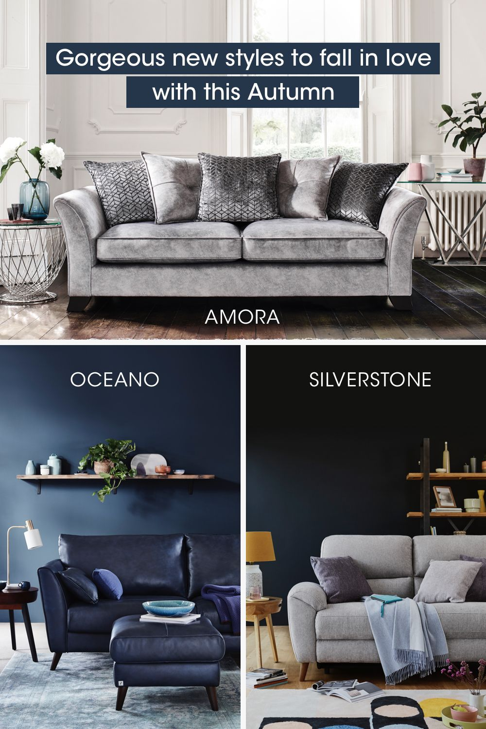 Just Some Of Our Picks For Top Sofas Of The Season With Suggestions On Styling Them To Create Fresh New Looks You Ll Top Sofas Furniture Village Fabulous Sofa