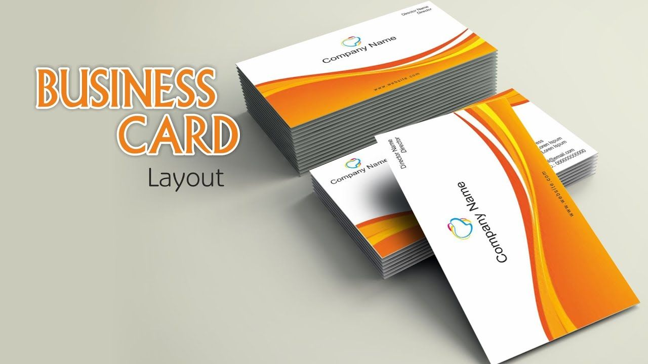 How To Make Business Card Layout In Coreldraw Make Business Cards Business Cards Layout Card Layout