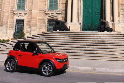 Italian made tazzari electric car at valletta the capital of italian made tazzari electric car at valletta the capital of malta sciox Images