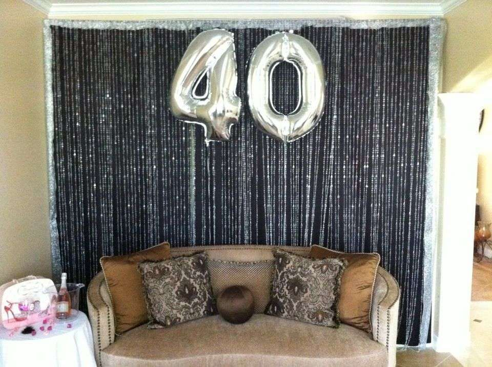 40 Birthday Decoration Ideas