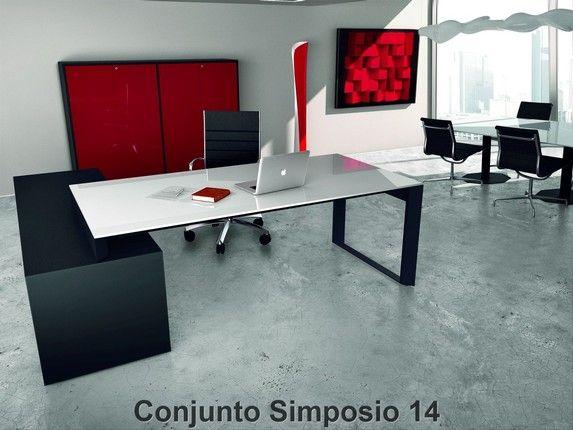 Escritorios de oficina para direcci n o gerencia modernos for Diseno de muebles de oficina modernos