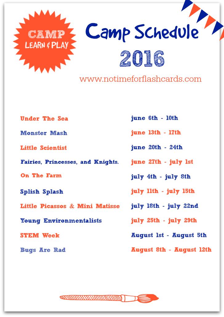 Free Summer Camp At Home Summer Camp Themes Preschool Summer
