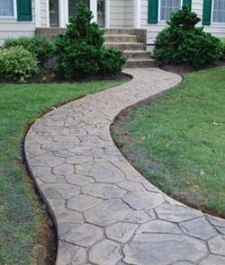 Same material and pattern could be used for patio designs ...