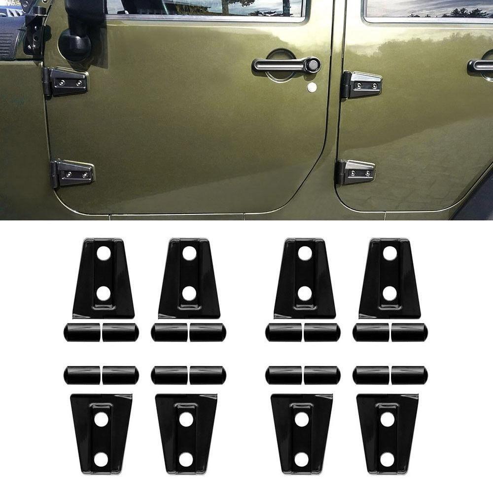 Door Hinge Covers For 4 Door Jeep Wrangler Jk 07 17 Jeep Wrangler Jk Jeep Wrangler Accessories Jeep Wrangler