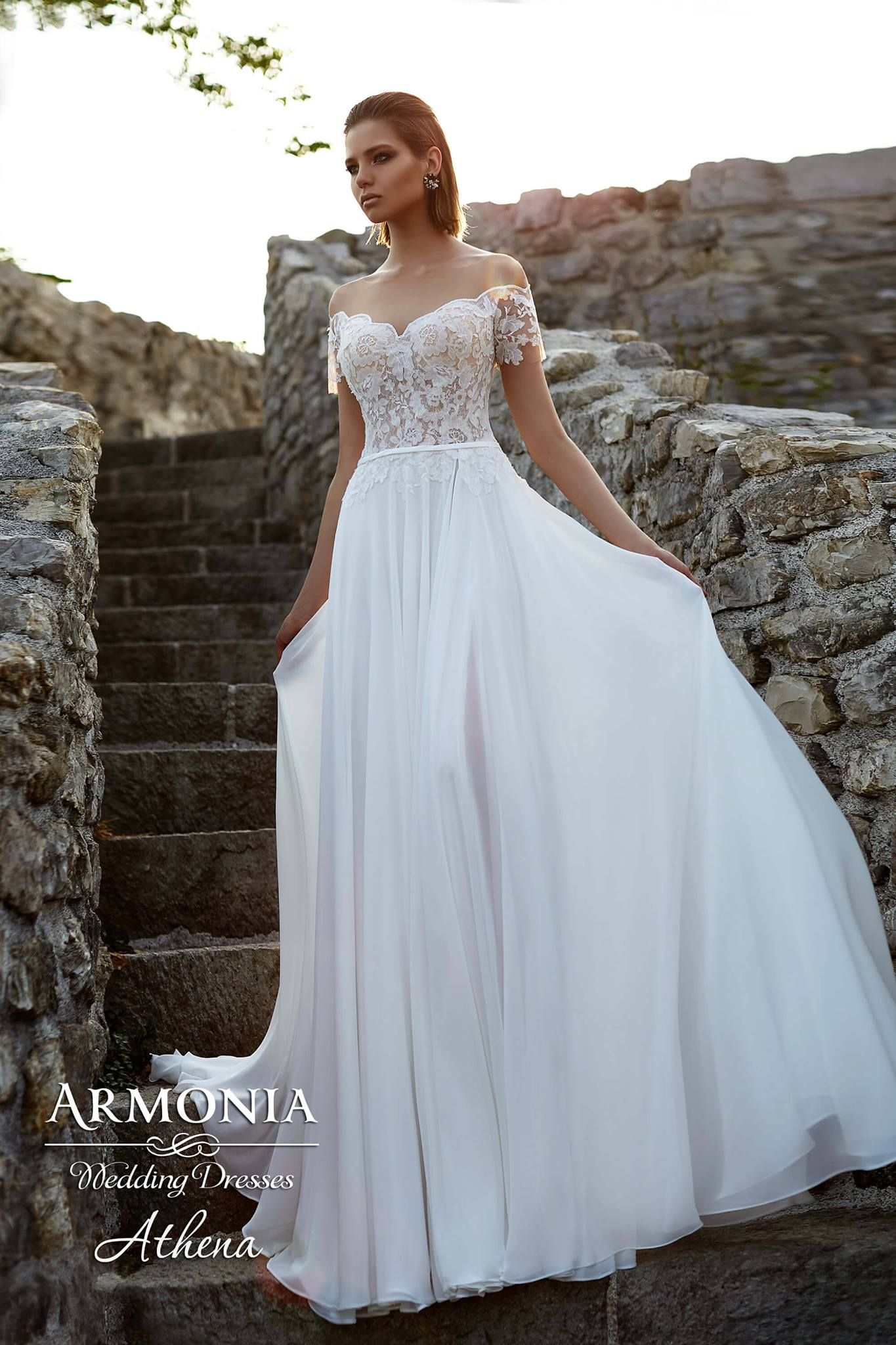 Encantador Vestido De Novia Athena Ideas Ornamento Elaboración ...