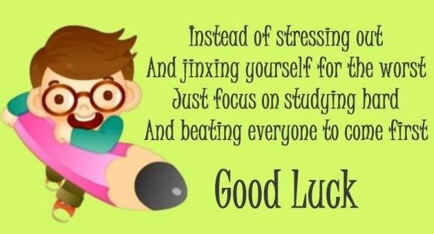 Dear Students Wish You All The Best For The Exams Give Your Best