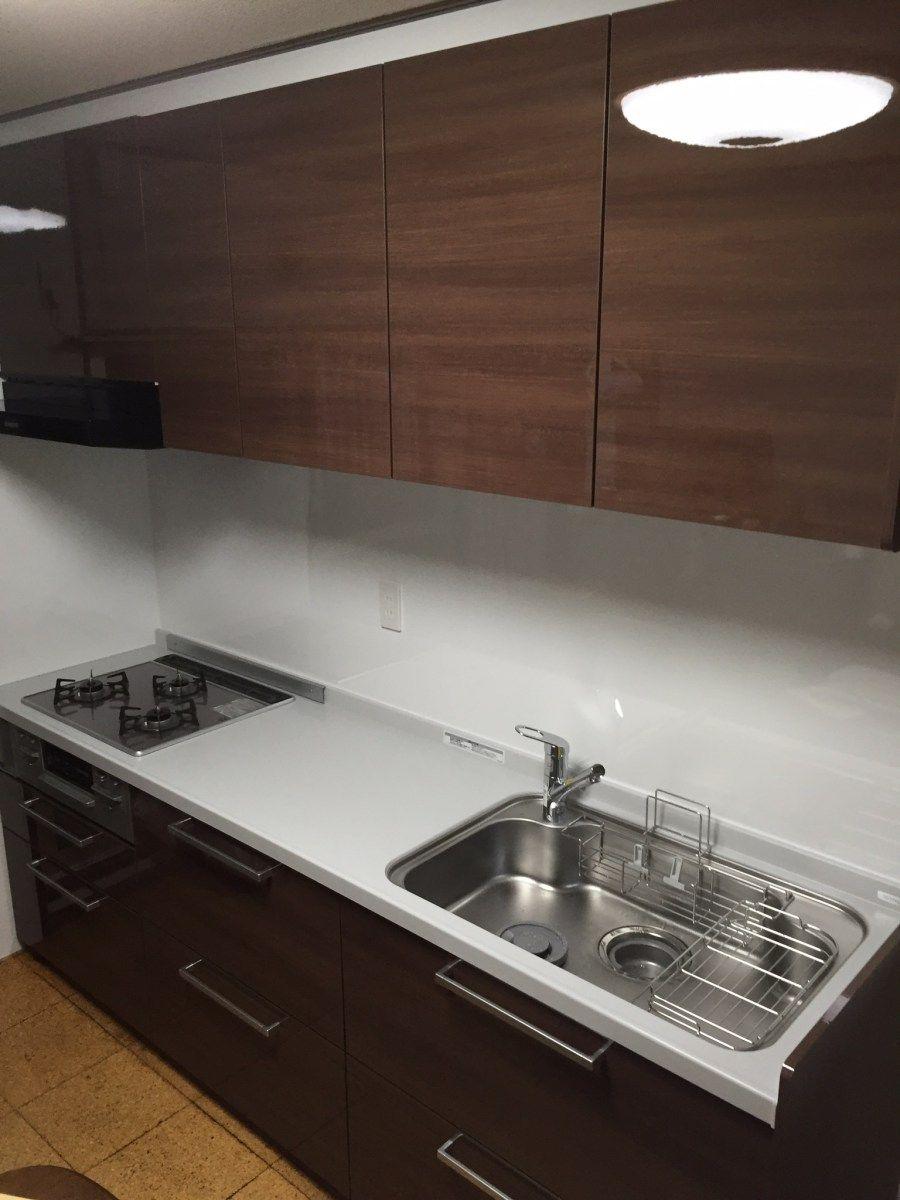 今年最後のキッチンはtotoミッテ 狭山市マンション施工事例 ミッテ キッチン Toto キッチン