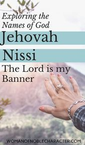 Jehovah Nissi The Lord is my Banner Jehovah Nissi The Lord is my Banner