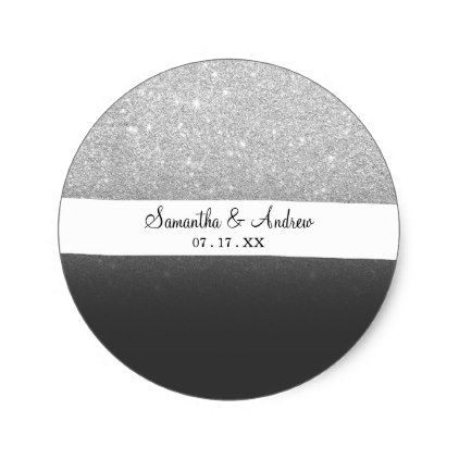 Round Grey Stickers