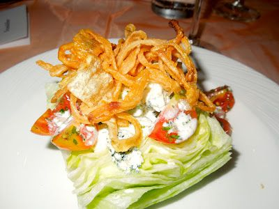 The perfect wedge salad