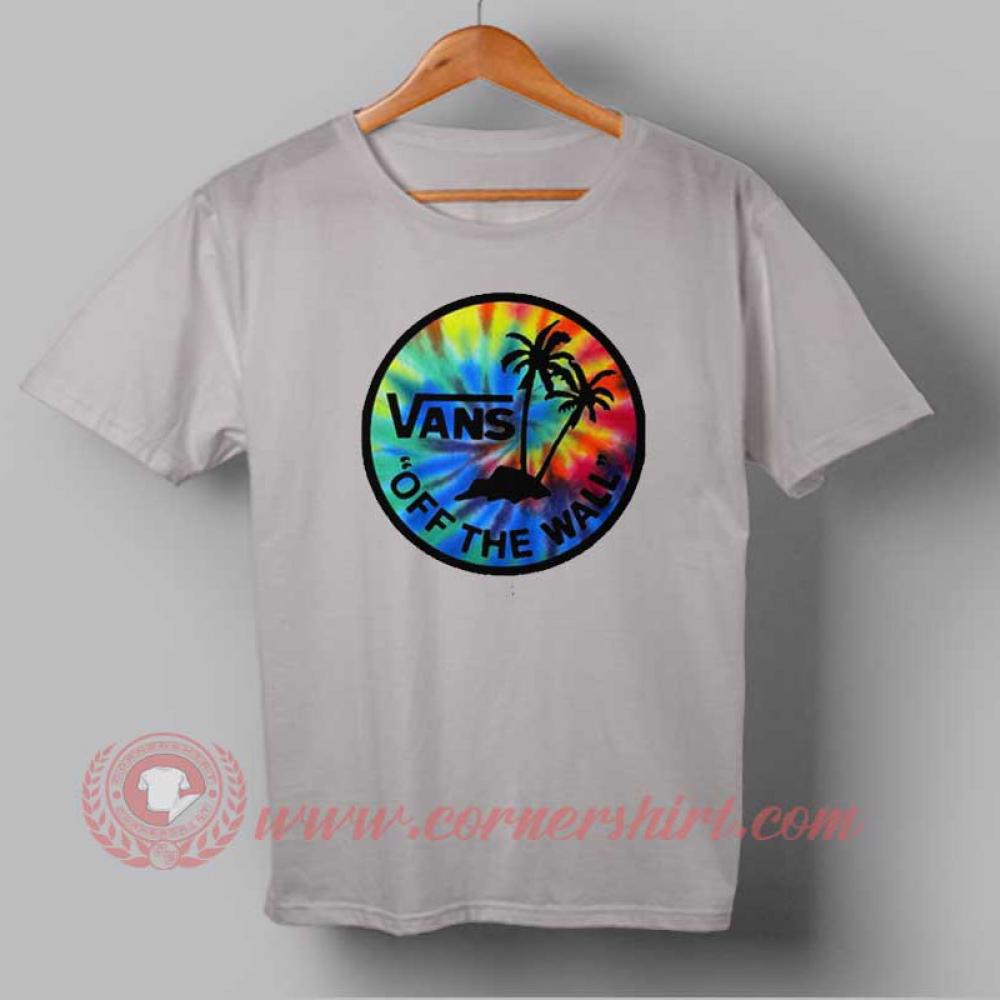 vans t shirt custom
