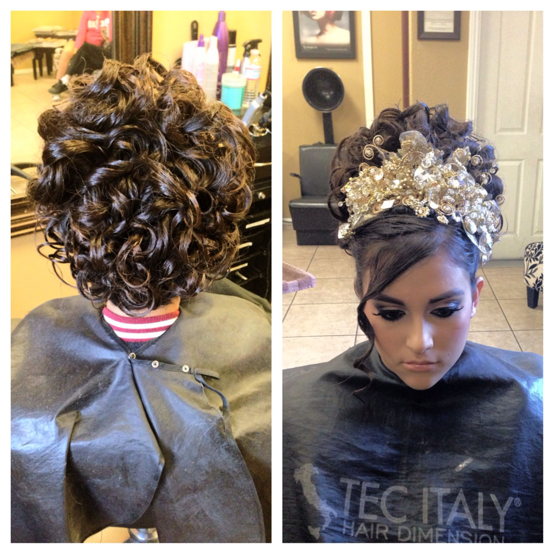 Updos For Special Occasions #quincenera