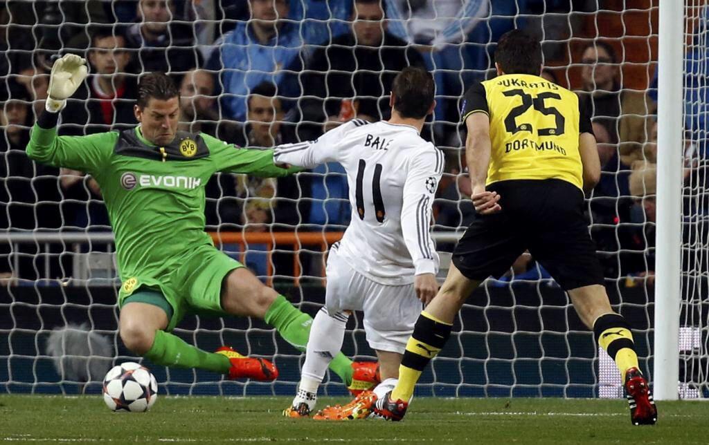 El equipo hoy en el Santiago Bernabéu Dortmund, Real