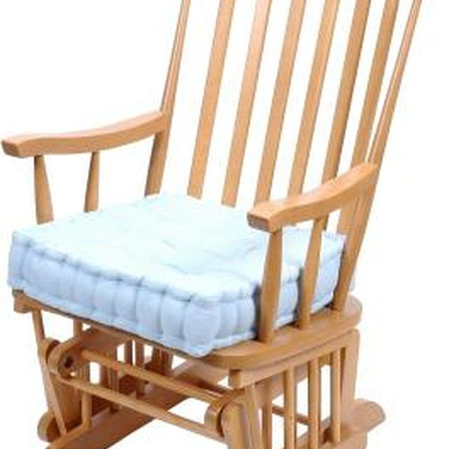 How To Paint A Wooden Glider Chair Hunker Glider Rocker Cushions Glider Rocking Chair Glider Rocker