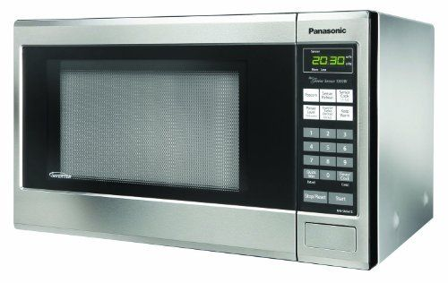 Panasonic Nn Sn661s Genius 1 2 Cuft 1200 Watt Sensor Microwave