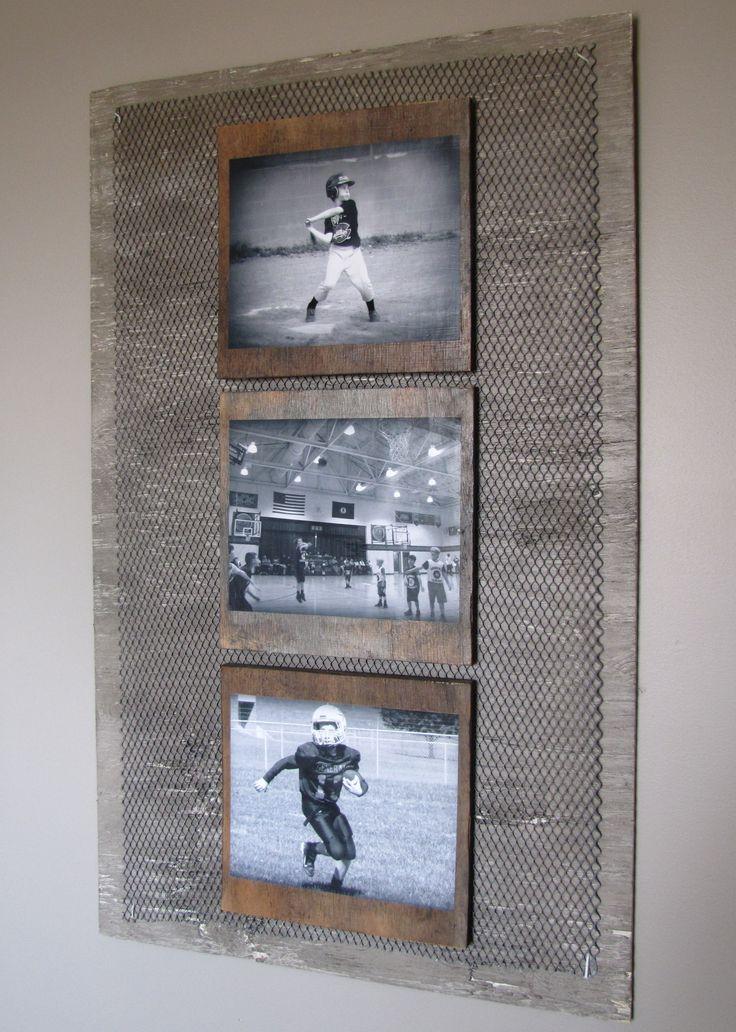 20 Diy Wall Art Ideas To Make Your Walls Look Amazing Kelly S Diy Blog Baseball Bedroom Industrial Boys Rooms Diy Wall Art