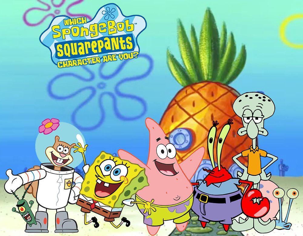 Which Spongebob Squarepants Character Are You Spongebob