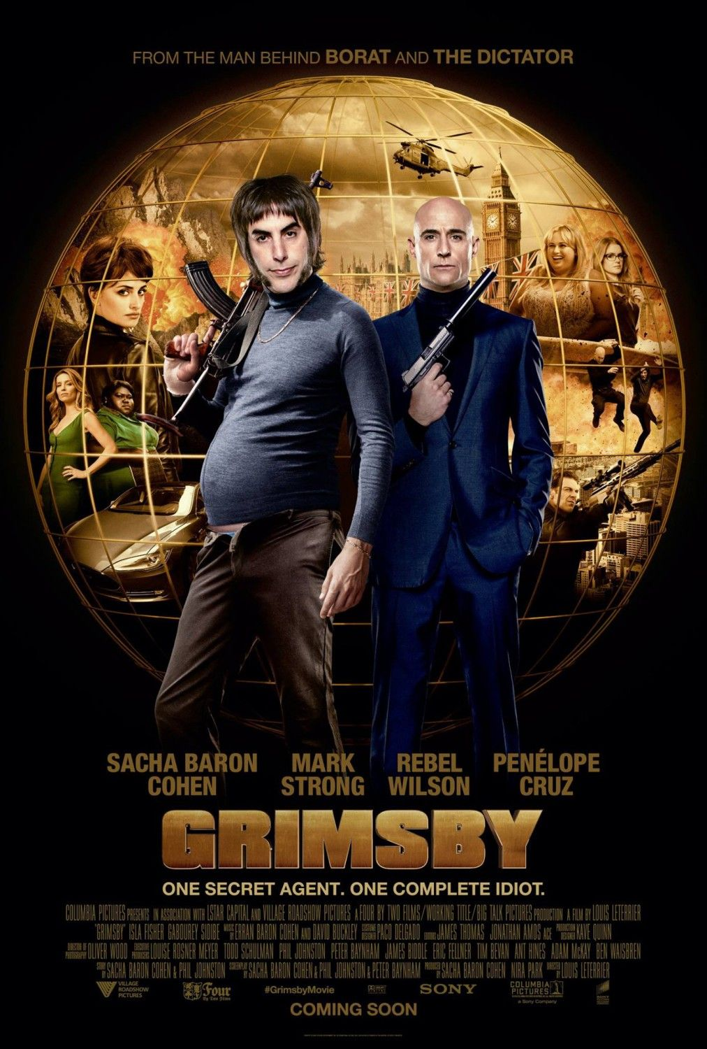 The Brothers Grimsby Movie Poster Movie Posters Streaming Movies New Movies Internet Movies