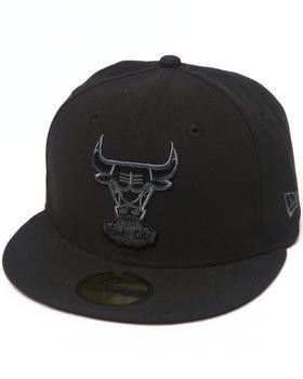 409beacd39e NBA Chicago Bulls New Era 59Fifty Black Gray Basic Chibulhc Black Team Fitted  Hat