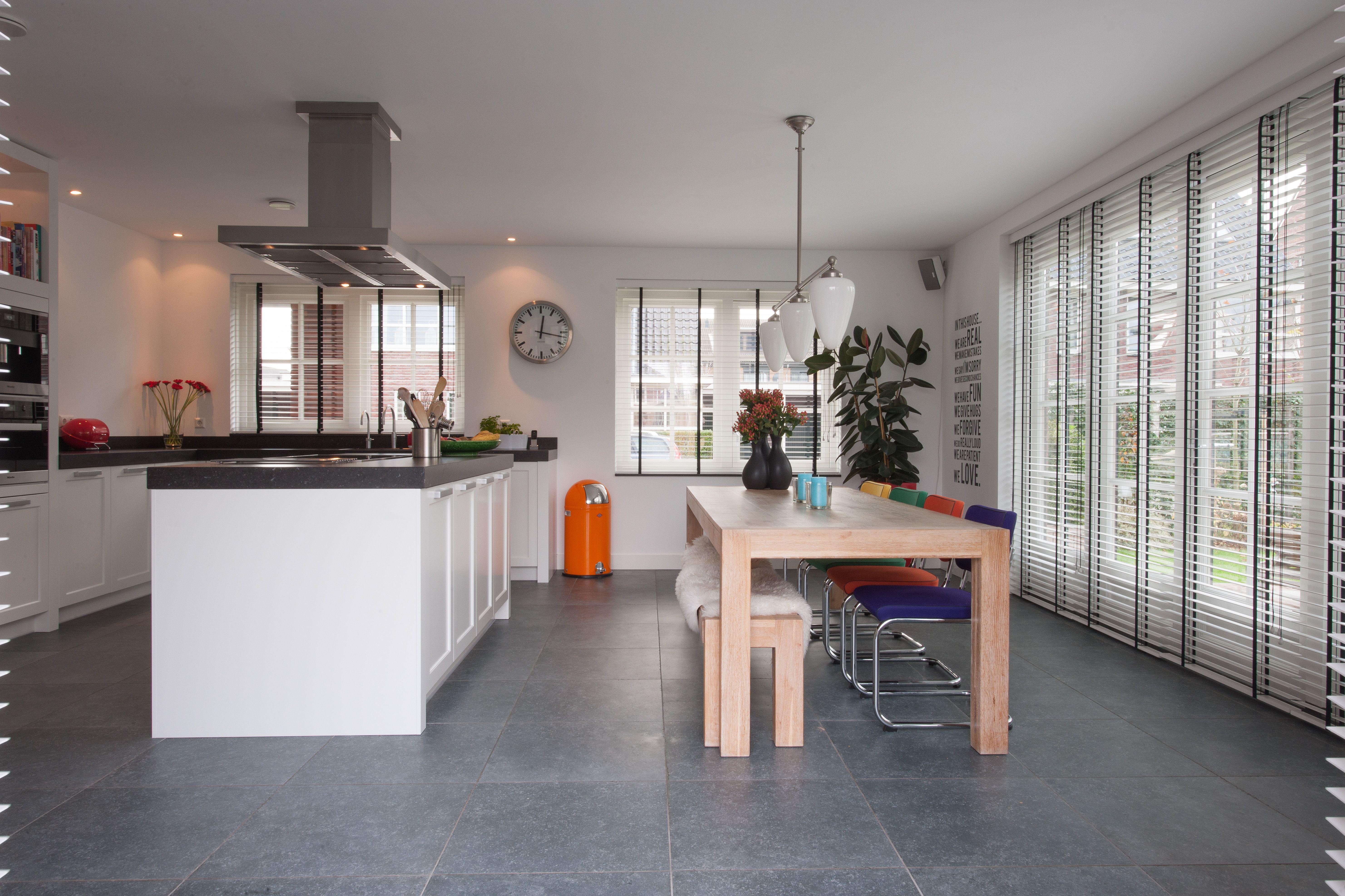 Keuken wonen architect atelier modern interieur lifestyle