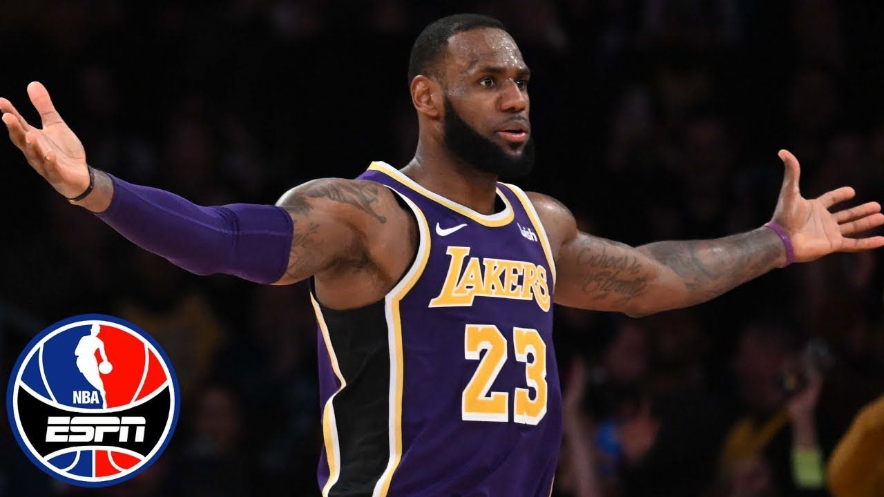 597d793c LeBron James' late takeover powers Lakers past Spurs | NBA Highlights