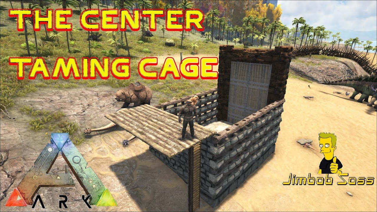 Taming Cage Ark The Center Primitive Ark Survival 3 Ark Cage