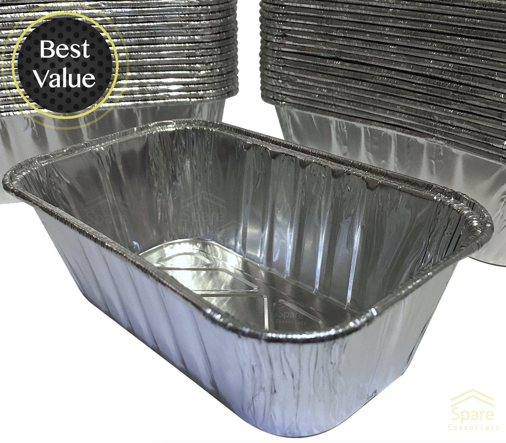 35 Pack A 1lb Sturdy Mini Loaf Pans Aluminum Pans Bread Pans