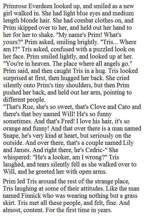 I haven't read allegiant yet, thanks reader chick! I am so angered about tris dying!!!