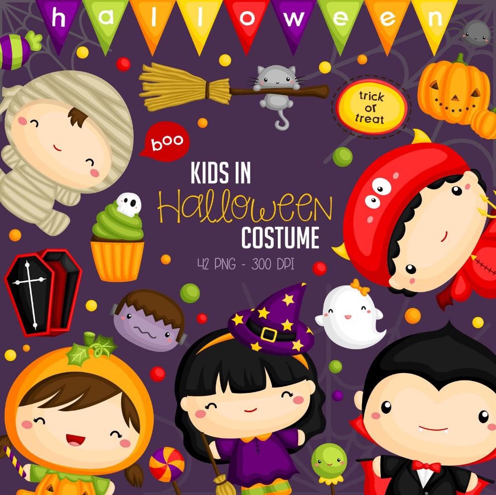 Halloween Monster Costume 2020 Png Halloween Costume Clipart   Cute Monster Clip Art   Cute