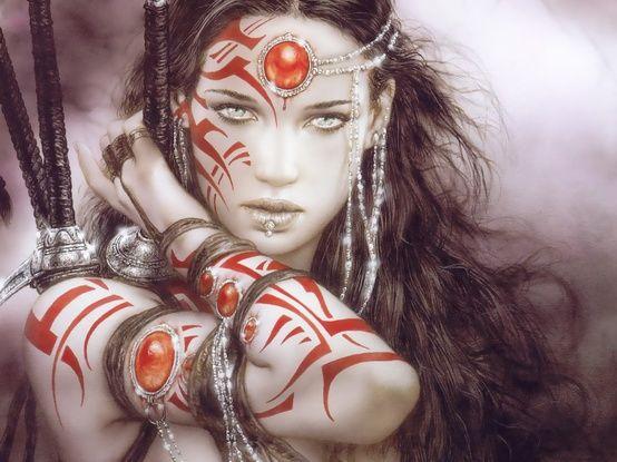 Fantasy Art Warrior Goddess