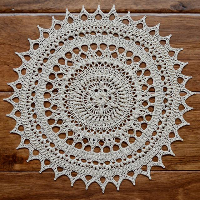 Ravelry: Lorelai pattern by Grace Fearon--doily | Crochet Doilies ...