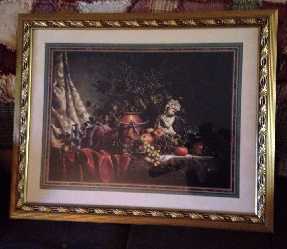 Vintage Home Interiors Picture Of Statue Fruit Grape Vines By D Giacomo Vintage House Interior Pictures Grape Vines