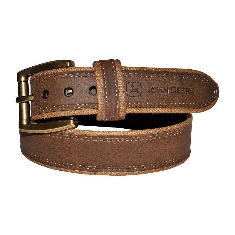 3cdf3afcd0 John Deere Mens Belt Men's Belts, Leather Belts, Men's Leather, Cotton  Fabric,