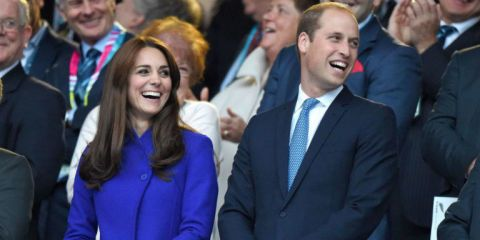 The Royal couple keeps the PDA to a minimum.
