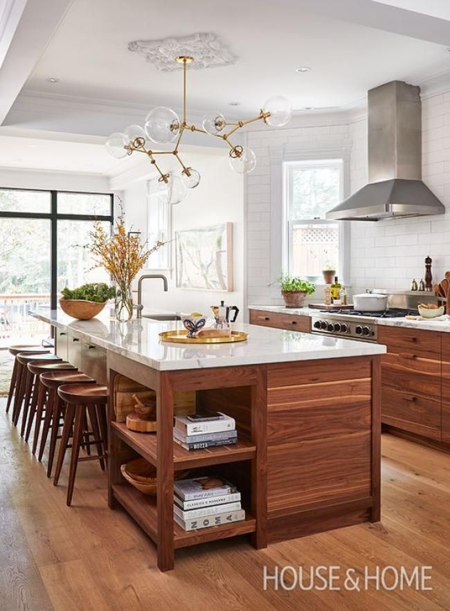 20+ Fascinating Kitchen Islands with Seating and Dining Areas | Haus ...