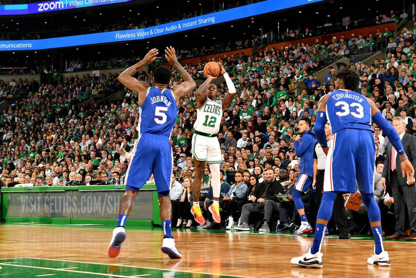 51aec8392b10 Photos  Celtics vs. 76ers - Oct. 16