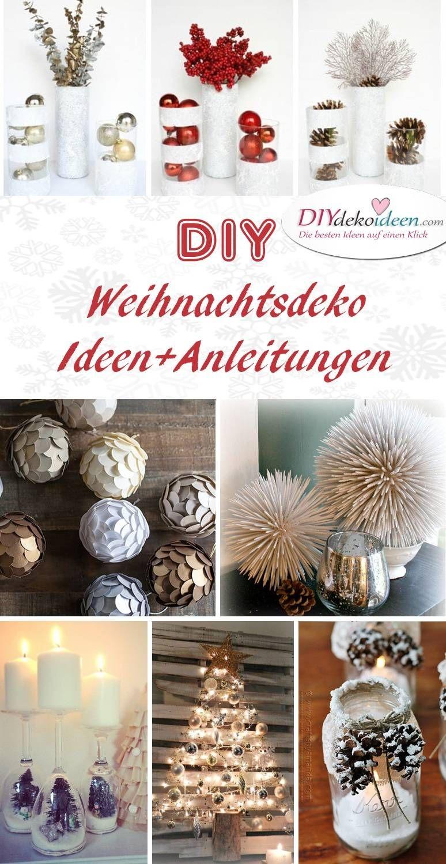 zauberhafte diy weihnachtsdeko bastelideen für das fest der liebe! - Diy Weihnachtsdeko