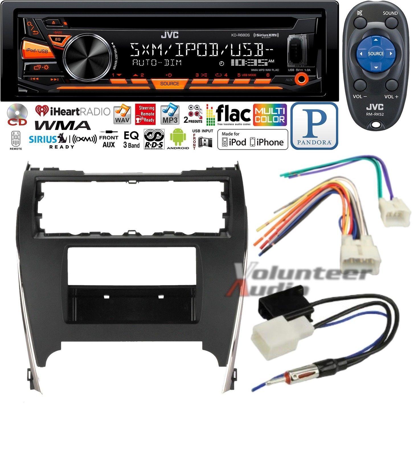 Nice Amazing Jvc Car Radio Stereo Cd Player Dash Install Mounting Wiring Harness Kit Usb Aux Mp3