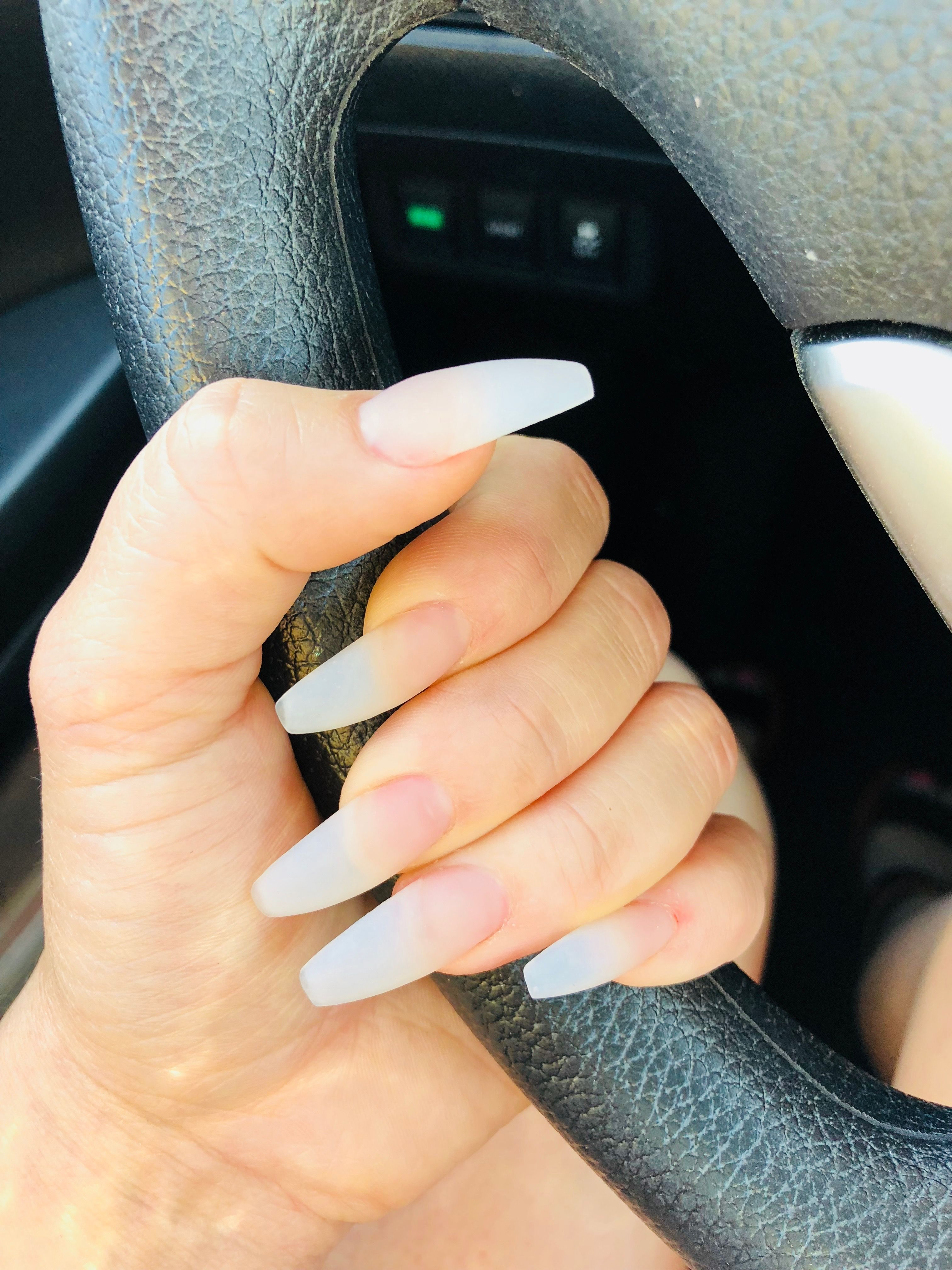 Pinterest Tkmaignan For More Inspiration Natural Acrylic Nails Matte Nails Design Matte Acrylic Nails